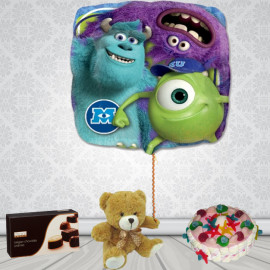Globo MONSTERS UNIVERSITY